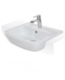 RAK Florence 52cm Semi Recessed Washbasin 1TH