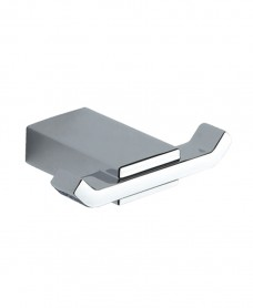 Kingston Double Robe Hook Chrome