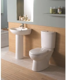 Twyford Galerie Toilet and Wash Basin Set
