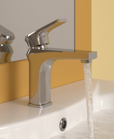 Newport Basin Mixer with FREE Click Clack Waste - *FURTHER REDUCTIONS