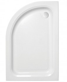 JT Ultracast 1200 x 800 Offset Quadrant Shower Tray LH - *Special Order