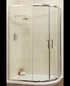 Kyra Range 1000x800 Offset Quadrant Two Door Shower Enclosure - Adjustment 955-980mm + 755-780mm