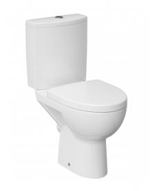 Prato Rimless Close Coupled Toilet & Soft Close Seat