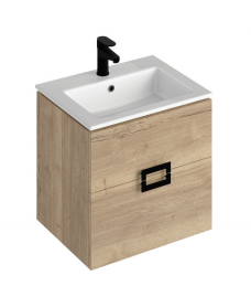 Ava Halifax Oak 55 Vanity Unit and Basin