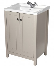 Ashbury Traditional 60 Stone Vanity Unit & Vitaria Basin
