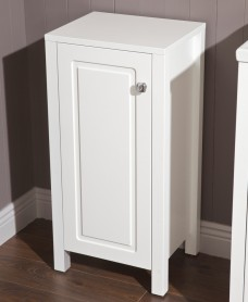 Ashbury Traditional 40cm Small Storage Unit Chalk White