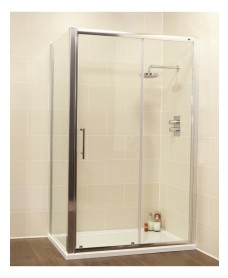Kyra Range 1500 x 760 sliding shower door