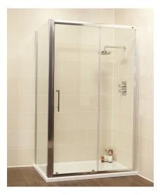 Kyra Range 1600 x 800 sliding shower door