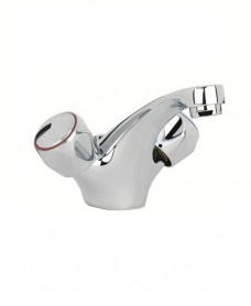 Metal Head Basin Mixer with FREE Click Clack Basin Waste