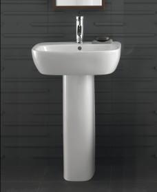 Twyford Moda Basin 60cm & Pedestal