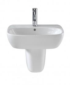 Twyford Moda Basin 60cm & Semi Pedestal - ** SPECIAL ORDER - PLEASE CALL TO ORDER