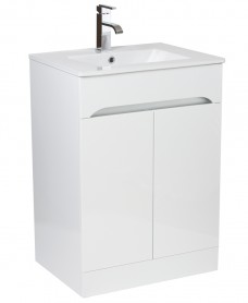 Merida 60cm White Vanity Unit & Basin