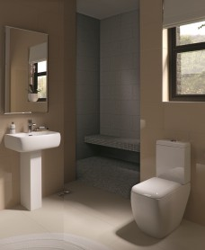 RAK Metropolitan Toilet and Basin Set
