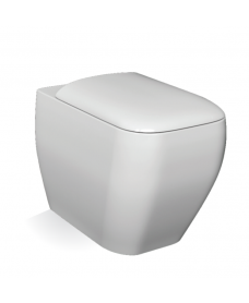 RAK Metropolitan Back To Wall Toilet and Soft Close Seat -  PRICE INCLUDES PAN AND SEAT