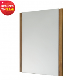 Brooklyn Universal Mirror American Walnut - REDUCED TO CLEAR