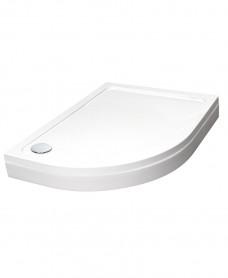 Easy Plumb Slimline 1200 x 800 Offset Quadrant Tray Left Hand