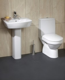Roma Toilet and Wash Basin Set