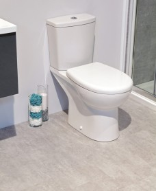 Roica Close Coupled Toilet and Soft Close Seat