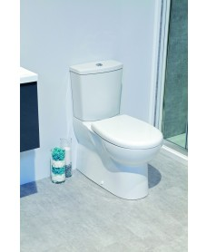 Roica Multi Outlet Fully Shrouded Toilet with Soft Close Seat