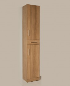 Cordoba Walnut Tall Storage Unit