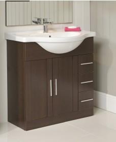 Cordoba Wenge 85cm Vanity Unit & Basin