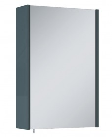 Soho Plus 42 cm Anthracite Single Glass Mirror Cabinet