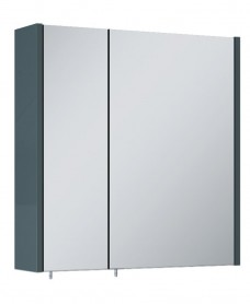 Soho Plus 60 cm Anthracite 2 Doors Mirror Cabinet