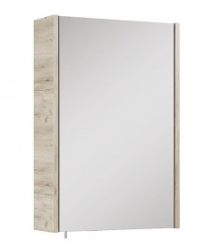 Soho Plus 42 cm Craft Oak Single Glass Mirror Cabinet