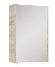 Soho Plus 42 cm Craft Oak Single Glass Mirror Cabinet