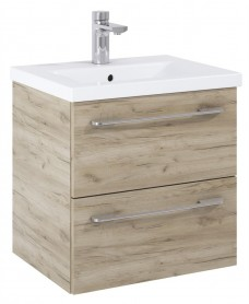 Soho Plus 50cm Craft Oak Vanity Unit with Basin