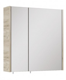 Soho Plus 60 cm Craft Oak 2 Doors Mirror Cabinet