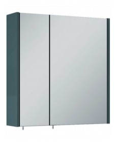 Soho Plus 60 cm Gloss Grey 2 Doors Mirror Cabinet