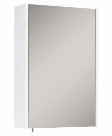 Soho Plus 42 cm Gloss White Single Glass Mirror Cabinet