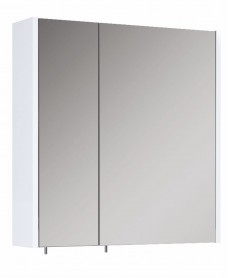 Soho Plus 60 cm Gloss White 2 Doors Mirror Cabinet