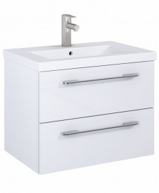 Soho Plus 60cm Gloss White Vanity Unit with Basin