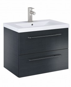 Soho Plus 60cm Grey Vanity Unit with Basin