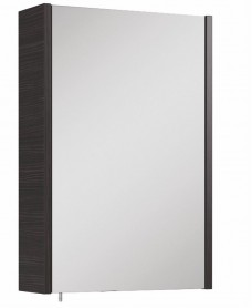 Soho Plus 42 cm Hacienda Black Single Glass Mirror Cabinet