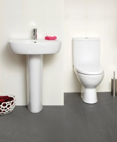 Prato Toilet and 50cm Wash Basin Set *A Further 10% off with Code JAN10