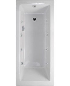 Duo 1800x800 Single Ended 8 Jet Whirlpool Bath - Extra Deep