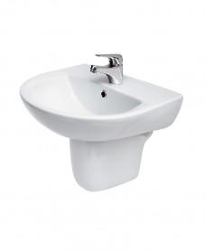 Modena Basin 50cm & Semi Pedestal