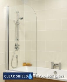 Kyra Range Radius Bath Screen