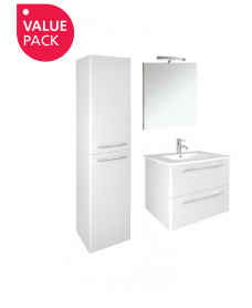Ramia Gloss White Furniture Pack