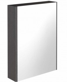 Regine Dark Wood 55 Mirror Cabinet