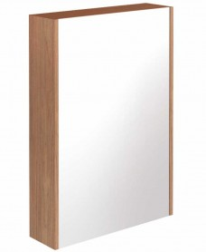 Regine Walnut 55 Mirror Cabinet