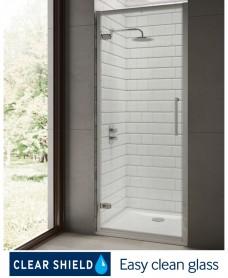 Rival 8mm 900 Hinge Shower Door - Adjustment 840 - 900 mm