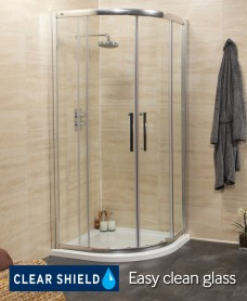 Rival Range 900 Quadrant Shower Enclosure -  Adjustment 850mm-880mm