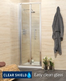 Rival Range 900 Bifold Shower Door - Adjustment 845-900mm