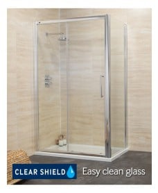 Rival 8mm 1600 x 800 Sliding Shower Door