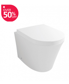 Rondo Back to Wall Toilet & Soft Close Seat - ** FURTHER REDUCTIONS