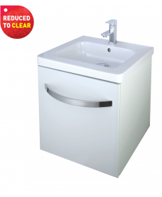 Haven 650 Vanity Unit White - REDUCED TO CLEAR